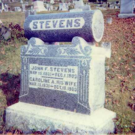 STEVENS, JOHN F. - Meigs County, Ohio   JOHN F. STEVENS - Ohio Gravestone Photos