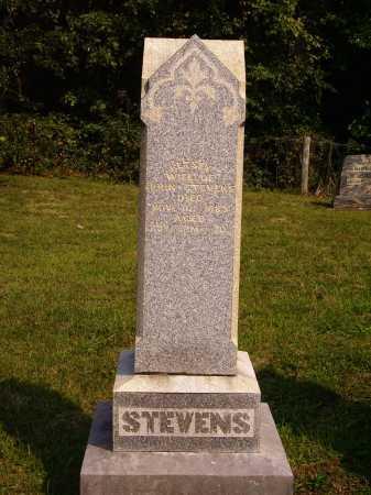 STEVENS, MONUMENT - Meigs County, Ohio | MONUMENT STEVENS - Ohio Gravestone Photos
