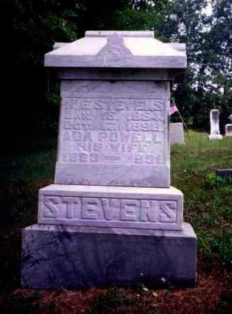 POWELL STEVENS, ADA - Meigs County, Ohio   ADA POWELL STEVENS - Ohio Gravestone Photos