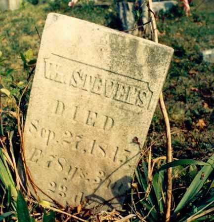 STEVENS, WM. - Meigs County, Ohio | WM. STEVENS - Ohio Gravestone Photos