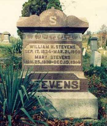 STEVENS, WILLIAM H. - Meigs County, Ohio   WILLIAM H. STEVENS - Ohio Gravestone Photos