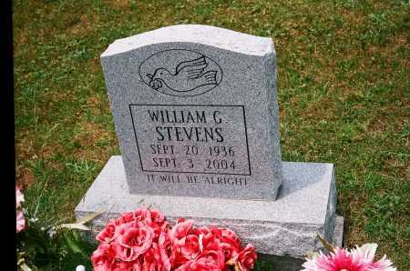 STEVENS, WILLIAM G. - Meigs County, Ohio | WILLIAM G. STEVENS - Ohio Gravestone Photos