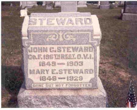 STEWARD, JOHN C. - Meigs County, Ohio | JOHN C. STEWARD - Ohio Gravestone Photos