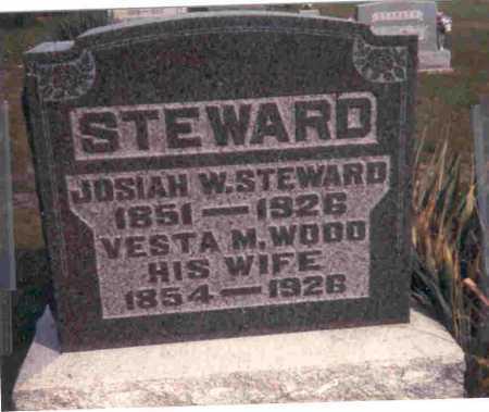 STEWARD, JOSIAH WILSON - Meigs County, Ohio   JOSIAH WILSON STEWARD - Ohio Gravestone Photos