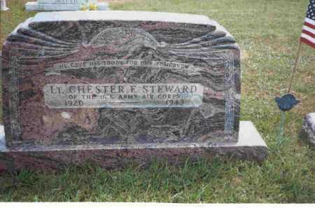 STEWARD, LT. CHESTER F. - Meigs County, Ohio   LT. CHESTER F. STEWARD - Ohio Gravestone Photos