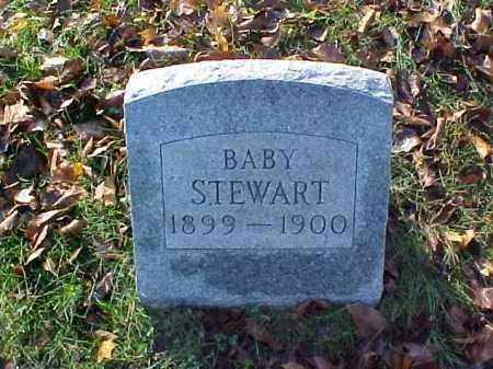 STEWART, BABY - Meigs County, Ohio | BABY STEWART - Ohio Gravestone Photos