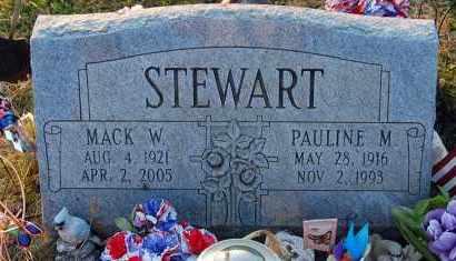 STEWART, MACK W. - Meigs County, Ohio   MACK W. STEWART - Ohio Gravestone Photos