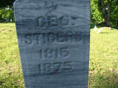 STIGERS, GEORGE - Meigs County, Ohio   GEORGE STIGERS - Ohio Gravestone Photos