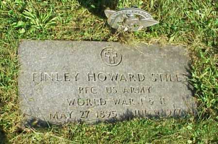 STILES, FINLEY HOWARD - Meigs County, Ohio | FINLEY HOWARD STILES - Ohio Gravestone Photos