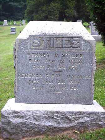STILES, KENNY B. - Meigs County, Ohio | KENNY B. STILES - Ohio Gravestone Photos