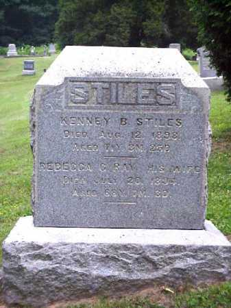 RAY STILES, REBECCA C. - Meigs County, Ohio | REBECCA C. RAY STILES - Ohio Gravestone Photos