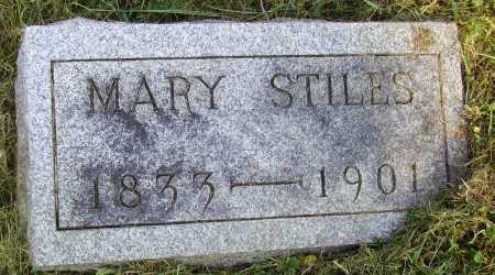 EVANS STILES, MARY ELIZABETH - Meigs County, Ohio | MARY ELIZABETH EVANS STILES - Ohio Gravestone Photos