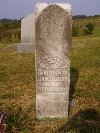 STILES, T. B. - Meigs County, Ohio   T. B. STILES - Ohio Gravestone Photos