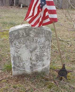 STIVERS, DAN'L - Meigs County, Ohio | DAN'L STIVERS - Ohio Gravestone Photos