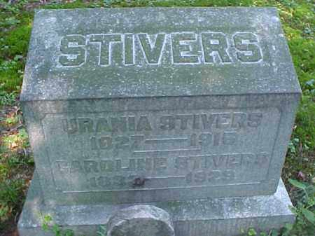 STIVERS, CAROLINE - Meigs County, Ohio | CAROLINE STIVERS - Ohio Gravestone Photos