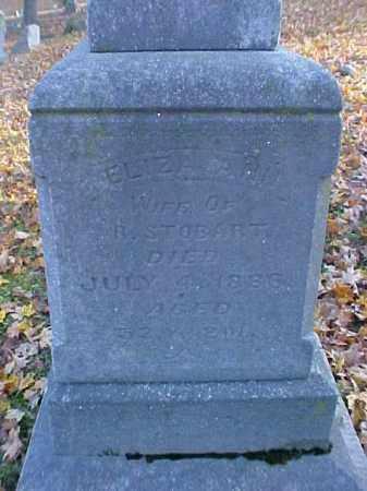 STOBART, ELIZA ANN - Meigs County, Ohio   ELIZA ANN STOBART - Ohio Gravestone Photos