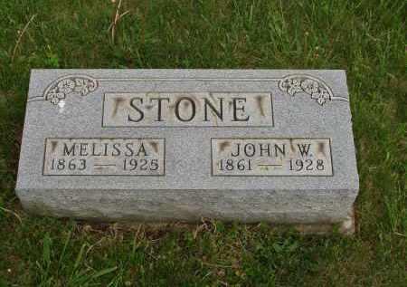 STONE, JOHN W. - Meigs County, Ohio | JOHN W. STONE - Ohio Gravestone Photos