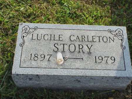 CARLETON STORY, LUCILE - Meigs County, Ohio | LUCILE CARLETON STORY - Ohio Gravestone Photos