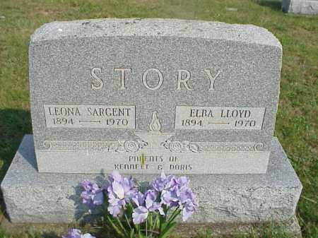 STORY, ELBA LLOYD - Meigs County, Ohio | ELBA LLOYD STORY - Ohio Gravestone Photos