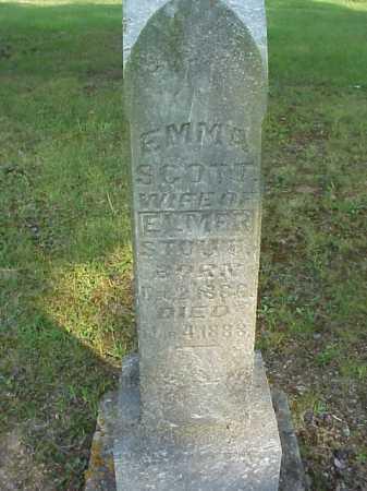 STOUT, EMMA - Meigs County, Ohio | EMMA STOUT - Ohio Gravestone Photos