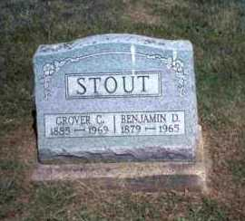 STOUT, GROVER C. - Meigs County, Ohio | GROVER C. STOUT - Ohio Gravestone Photos