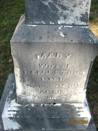 STOUT, MARY - Meigs County, Ohio | MARY STOUT - Ohio Gravestone Photos