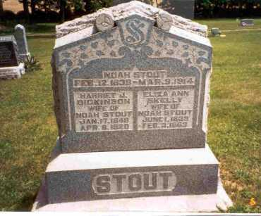 STOUT, HARRIET J. - Meigs County, Ohio | HARRIET J. STOUT - Ohio Gravestone Photos