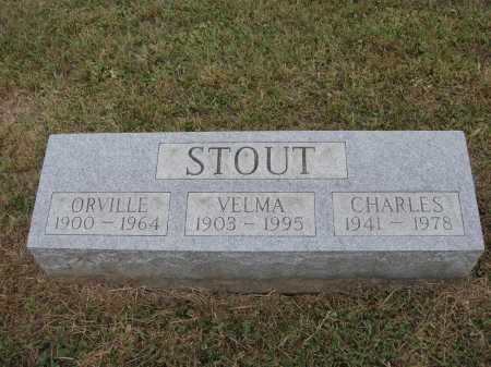 STOUT, ORVILLE - Meigs County, Ohio | ORVILLE STOUT - Ohio Gravestone Photos