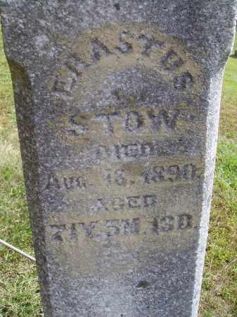 STOW, ERASTUS - CLOSEVIEW - Meigs County, Ohio   ERASTUS - CLOSEVIEW STOW - Ohio Gravestone Photos