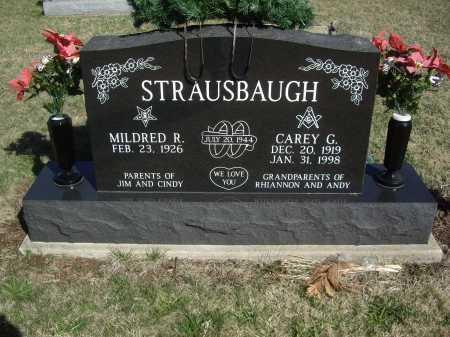 STRAUSBAUGH, CAREY G. - Meigs County, Ohio | CAREY G. STRAUSBAUGH - Ohio Gravestone Photos