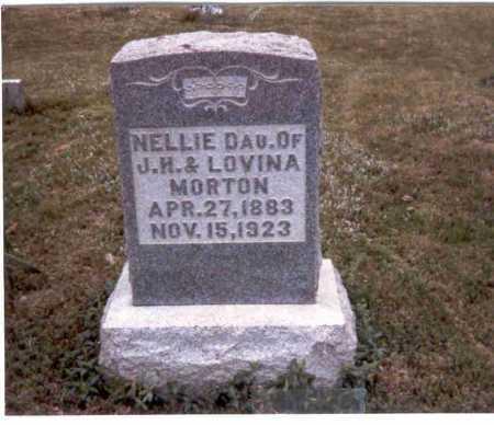 MORTON STRAUSBAUGH, NELLIE - Meigs County, Ohio   NELLIE MORTON STRAUSBAUGH - Ohio Gravestone Photos