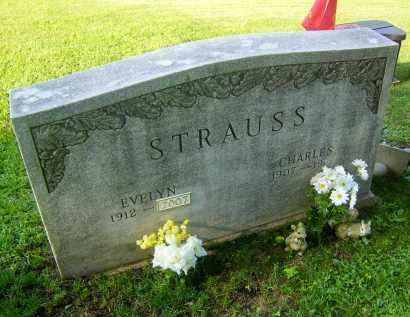BRALEY STRAUSS, EVELYN - Meigs County, Ohio | EVELYN BRALEY STRAUSS - Ohio Gravestone Photos