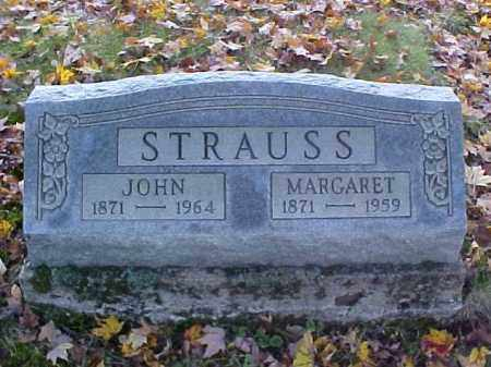 STRAUSS, MARGARET - Meigs County, Ohio | MARGARET STRAUSS - Ohio Gravestone Photos