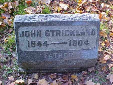STRICKLAND, JOHN - Meigs County, Ohio | JOHN STRICKLAND - Ohio Gravestone Photos