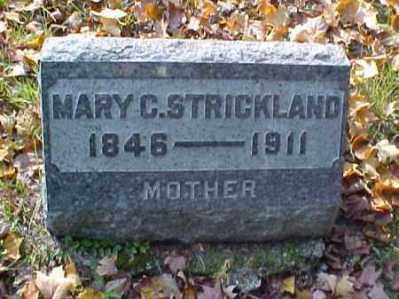 STRICKLAND, MARY C. - Meigs County, Ohio | MARY C. STRICKLAND - Ohio Gravestone Photos