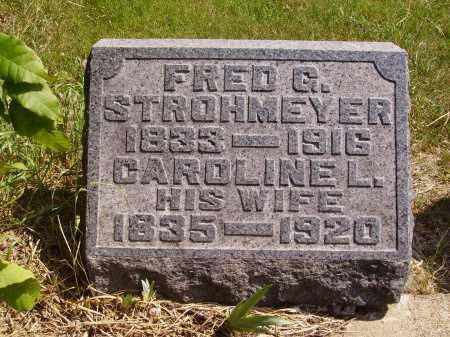 STROHMEYER, CAROLINE L. - Meigs County, Ohio | CAROLINE L. STROHMEYER - Ohio Gravestone Photos