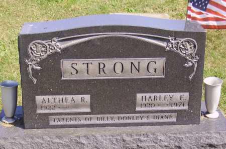 STRONG, HARLEY F. - Meigs County, Ohio | HARLEY F. STRONG - Ohio Gravestone Photos
