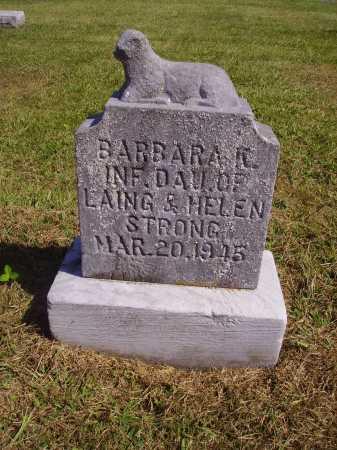 STRONG, BARBARA KATHALEEN - Meigs County, Ohio | BARBARA KATHALEEN STRONG - Ohio Gravestone Photos