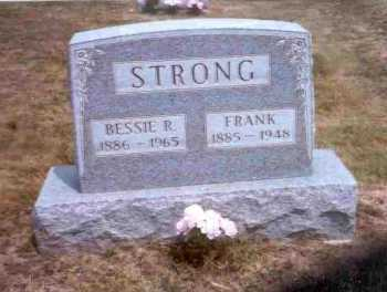 RUTHERFORD STRONG, BESSIE R. - Meigs County, Ohio | BESSIE R. RUTHERFORD STRONG - Ohio Gravestone Photos