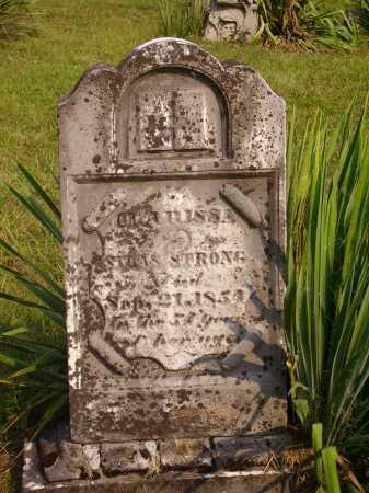 STRONG, CLARISSA - Meigs County, Ohio | CLARISSA STRONG - Ohio Gravestone Photos
