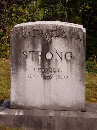 STRONG, GEORGE S. - Meigs County, Ohio | GEORGE S. STRONG - Ohio Gravestone Photos