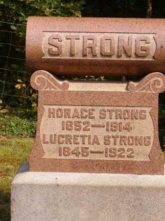 STRONG, HORACE - Meigs County, Ohio | HORACE STRONG - Ohio Gravestone Photos