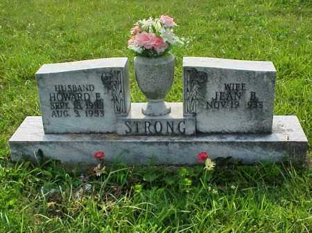 STRONG, JEAN B. - Meigs County, Ohio | JEAN B. STRONG - Ohio Gravestone Photos