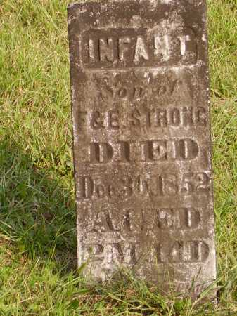STRONG, INFANT - Meigs County, Ohio | INFANT STRONG - Ohio Gravestone Photos