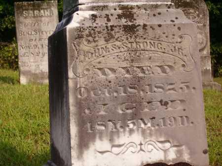 STRONG, JOHN S., JR - Meigs County, Ohio | JOHN S., JR STRONG - Ohio Gravestone Photos