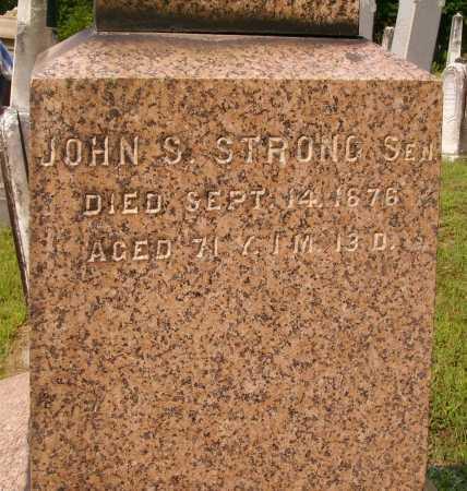 STRONG, JOHN S., SEN - Meigs County, Ohio | JOHN S., SEN STRONG - Ohio Gravestone Photos
