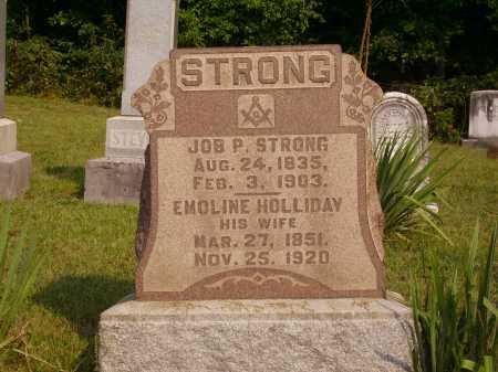STRONG, EMOLINE - Meigs County, Ohio   EMOLINE STRONG - Ohio Gravestone Photos