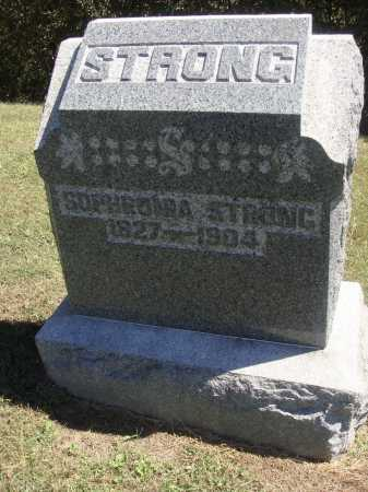 STRONG, SOPHRONIA - OVERALL VIEW - Meigs County, Ohio | SOPHRONIA - OVERALL VIEW STRONG - Ohio Gravestone Photos