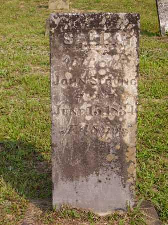 STRONG, SADIA - Meigs County, Ohio   SADIA STRONG - Ohio Gravestone Photos