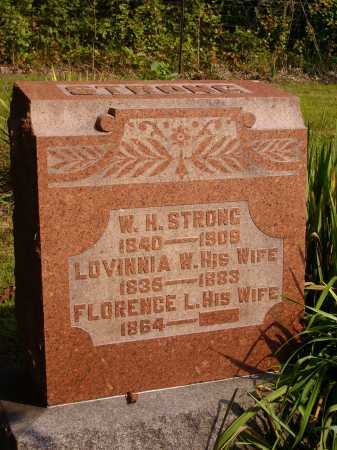 WOOD STRONG, LOVINNIA W. - Meigs County, Ohio | LOVINNIA W. WOOD STRONG - Ohio Gravestone Photos